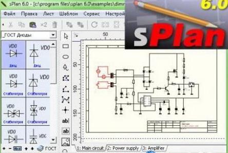 Программа sPlan - простой и удобный инструмент для черчения электронных и электрических схем, она позволяет легко...